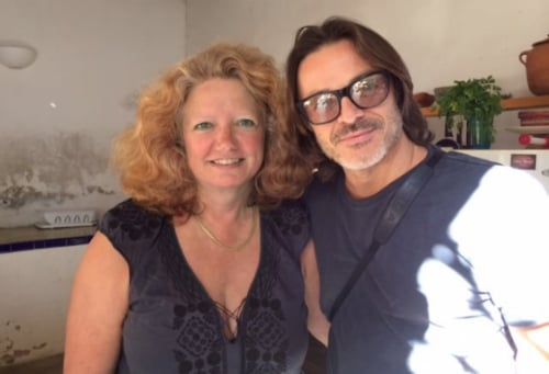 Producer SARAH TEALE and Director MARIO SORRENTI