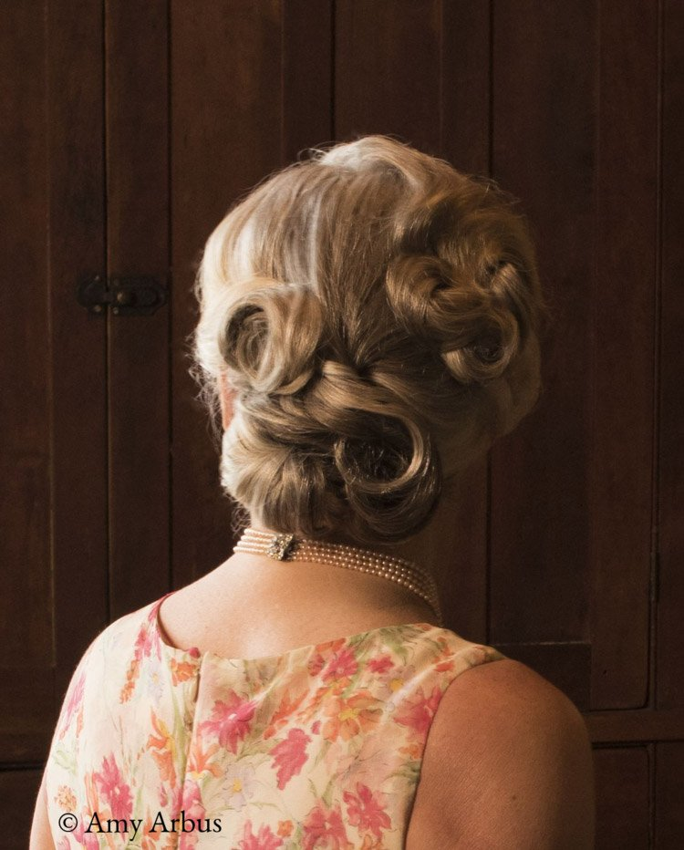 Updo style for older women | Lari Manz Hair and Makeup