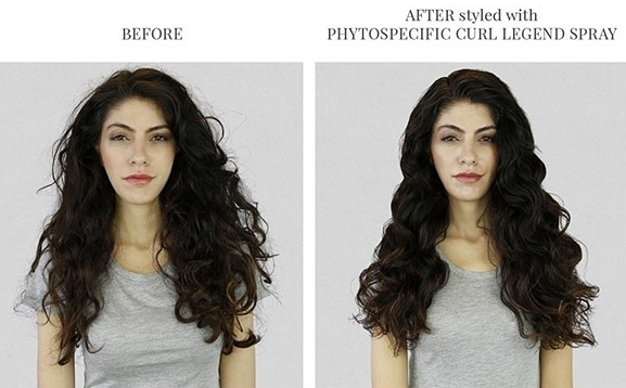 Before and after photos for  PHYTO SPECIFIC Curl Legend