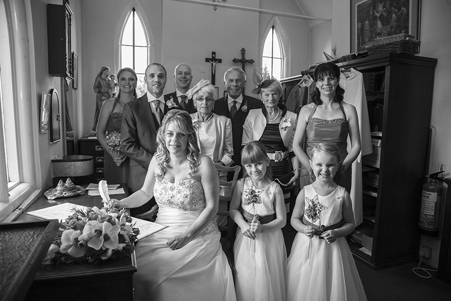worcestershire wedding photography Harvington church.jpg