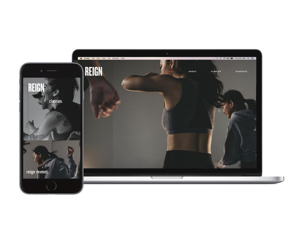 Website + Mobile