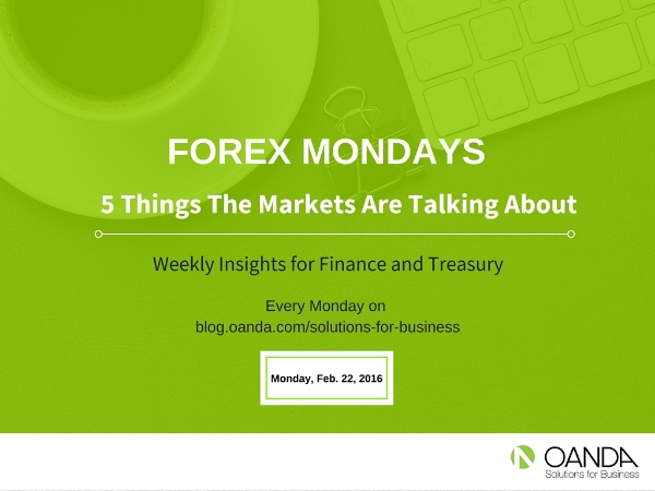 "The Content for the ""Forex Mondays"" Series is provided by the foreign exchange analysts at Marketpulse.com."