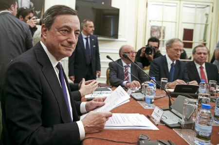 ECB President Mario Draghi. The central bank left interest rates unchanged during its June policy review. (WSJ Photo)