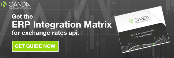 ERP Matrix for FX Rest API