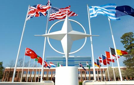 NATO headquarters in Belgium.