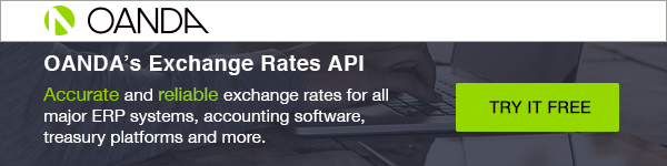 OANDA's Exchange Rates API