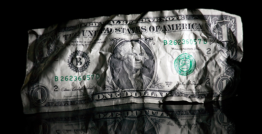 Dollar Held to Ransom