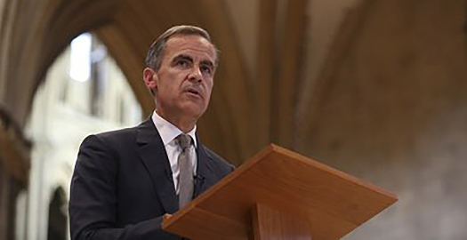 Governer of BoE, Mark Carney