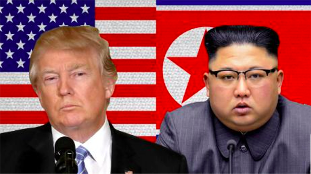 Trump and Kim Jong Un for the North Korean Summit
