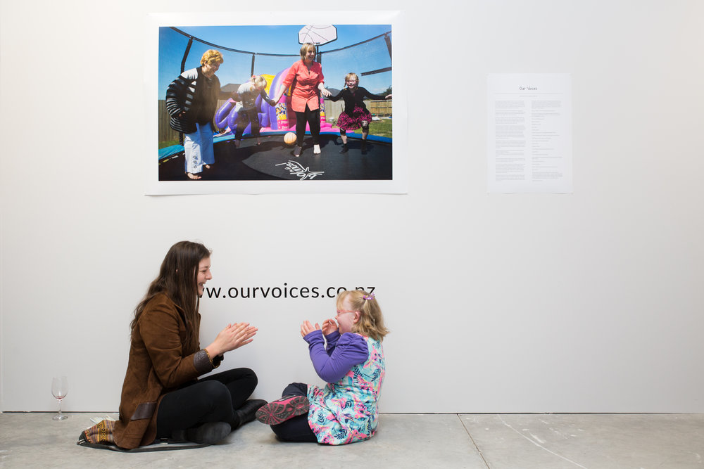 'Our Voices' exhibition by Janneth Gil