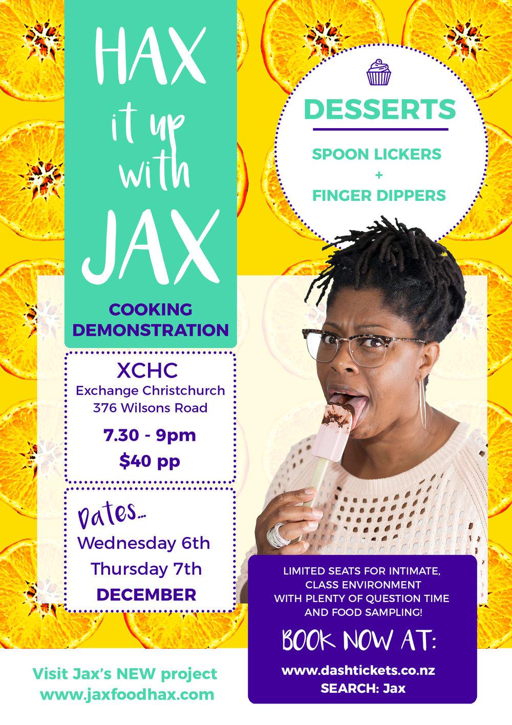 Hax it up with Jax series A4 flyer - desserts.jpg