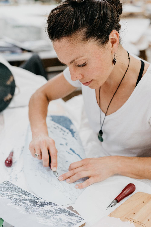 Hannah Jensen | Painter/Carver