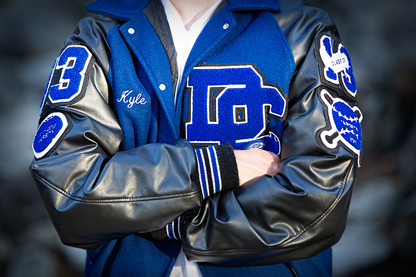 Richardson TX senior jacket boy