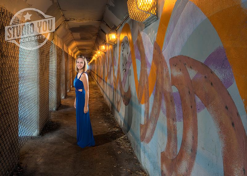 Urban Prom Dress Senior Photography