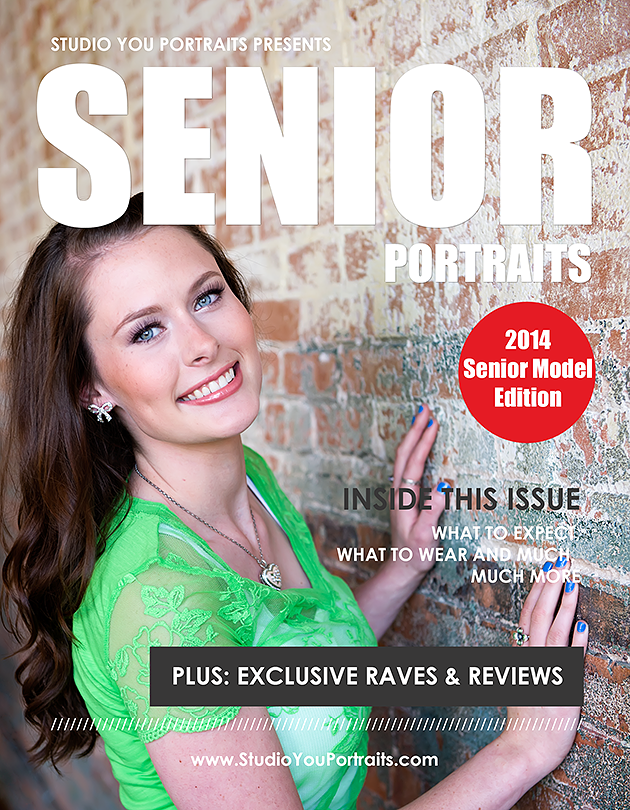 Plano senior portraits magazine