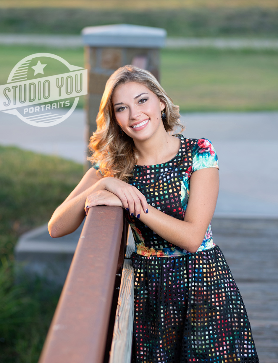 Dallas outdoor senior pictures