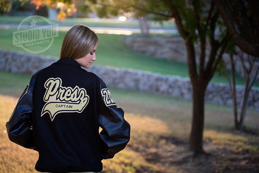 Dallas athlete senior photography