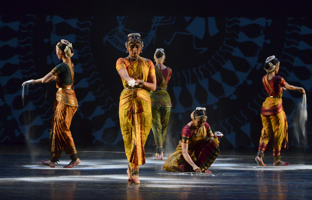 """Make a Gift Today for Give to the Max Day      GIVE NOW     """"Ranee and Aparna Ramaswamy ground their creation in bharatanatyam's vast lexicon in thrilling detail."""" — Financial Times ★ ★ ★ ★"""