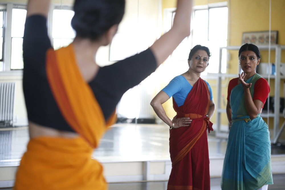 """Ranee and Aparna Ramaswamy ground their creation in bharatanatyam's vast lexicon in thrilling detail.""  —  Financial Times      ★ ★ ★ ★"