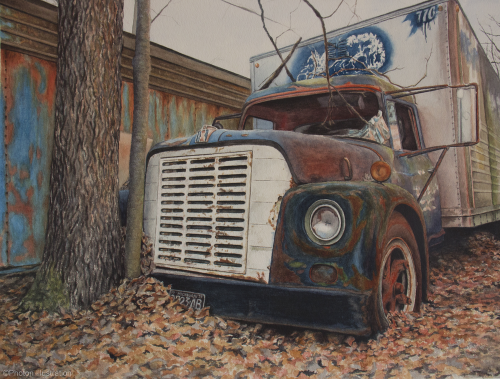 Jack's Old Truck