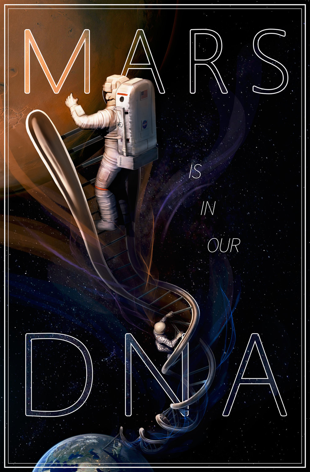 Mars is in Our DNA