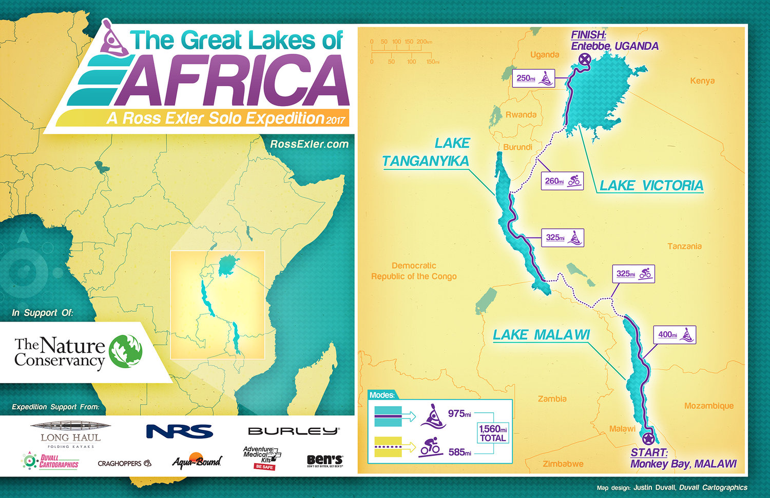Africa Map Lakes.African Great Lakes Trip Ross Exler