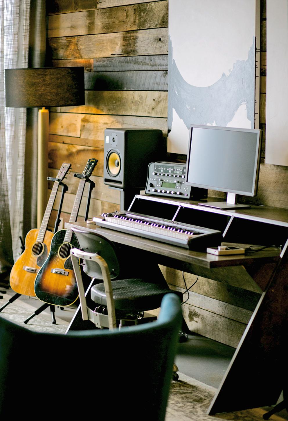 "Nashville Spotify ""Secret Genius"" Writing Studio designed by Life of Plenty"