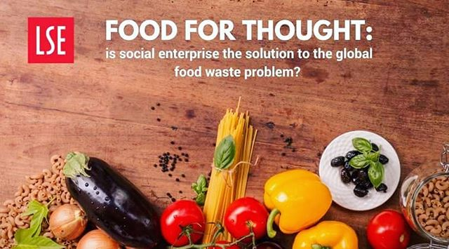 Come see @olio_ex @getwonkyuk and @dayoldeats tonight at LSE Sheik Zayed Theatre tonight to weigh in on the question: is social enterprise the solution to the global food waste problem? 🍏🍊🍋🍓🍑 goo.go/FnYthd (Psst: there will be cake 🍰)