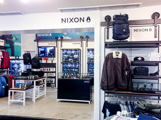 Nixon at Hansen's