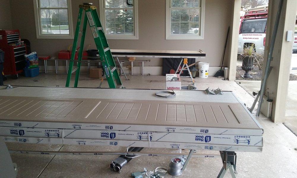 New Haas Door Installation in Carroll OH.