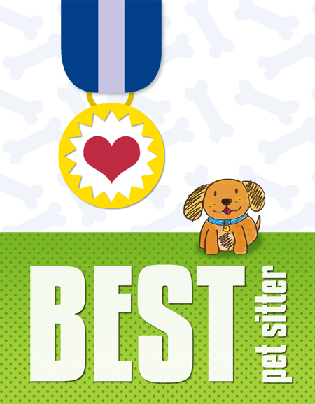 Best pet sitter card