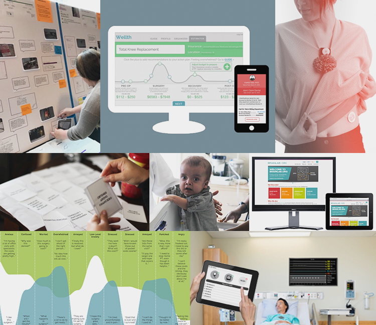 I help healthcare innovators strategize, produce, and socialize UX design + research. -