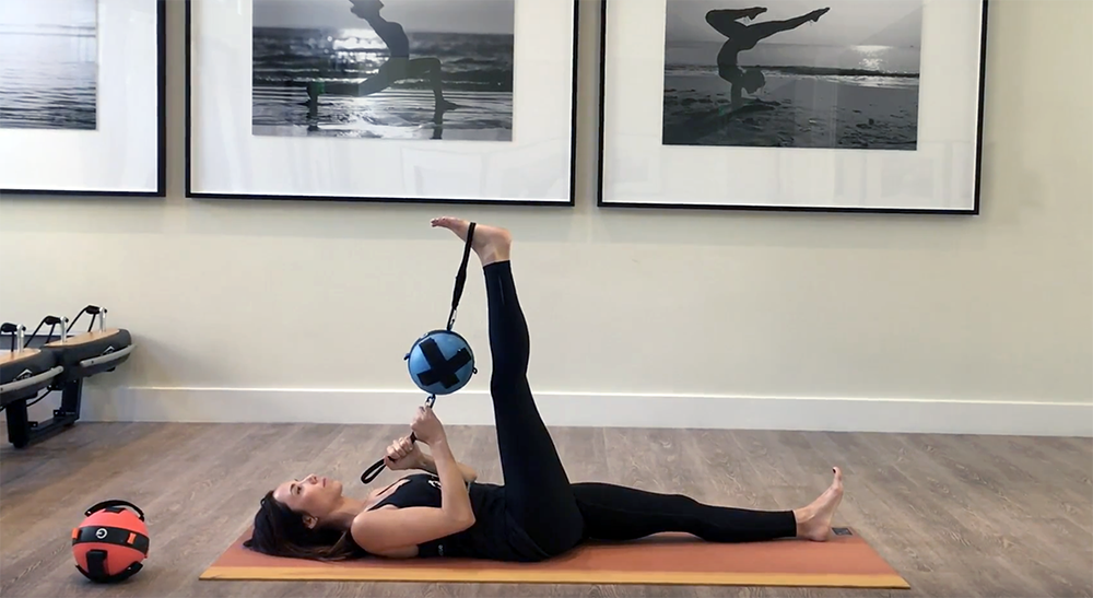 This hip mobility stretch is beneficial for improving both hip mobility and hamstring flexibility
