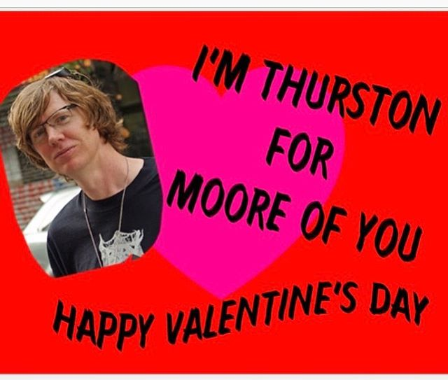 SRY I HAD TO! We ❤️ you! 15% off everything TODAY ONLY! . . . . #thurstonmoore #sonicyouth #kimgordan #valentine #valentinesday #valentinescard #neworleans #recordstore #vinyl #vintage #love