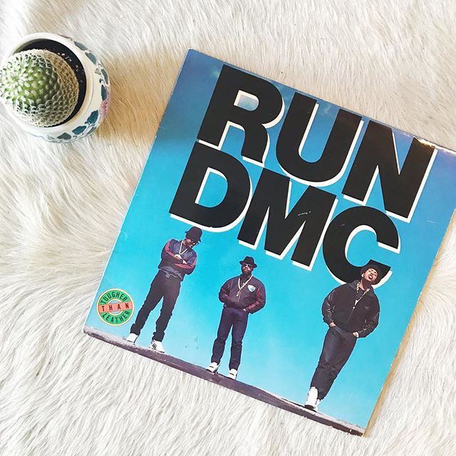 1988 Tougher Than Leather〰 . . . . . . #rundmc #vinyl #vintage