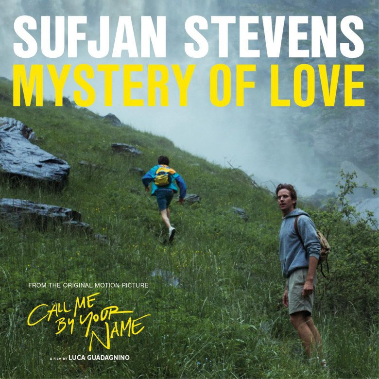 """Sufjan Stevens """"Mystery of Love""""   10"""" featuring 3 new songs by singer/songwriter Sufjan Stevens from the critically acclaimed move """"Call Me By Your Name"""" Exclusive for Record Store Day, only 5.000 individually copies will be available worldwide"""