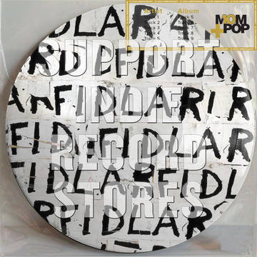 """FIDLAR """"FIDLAR""""   In celebration of Mom+Pop's 10 year anniversary we will be re-issuing key catalogue pieces on picture disc based on the album artwork. These pressings will include a 10 year commemorative Mom+Pop poster as well as collectible temporary tattoos."""