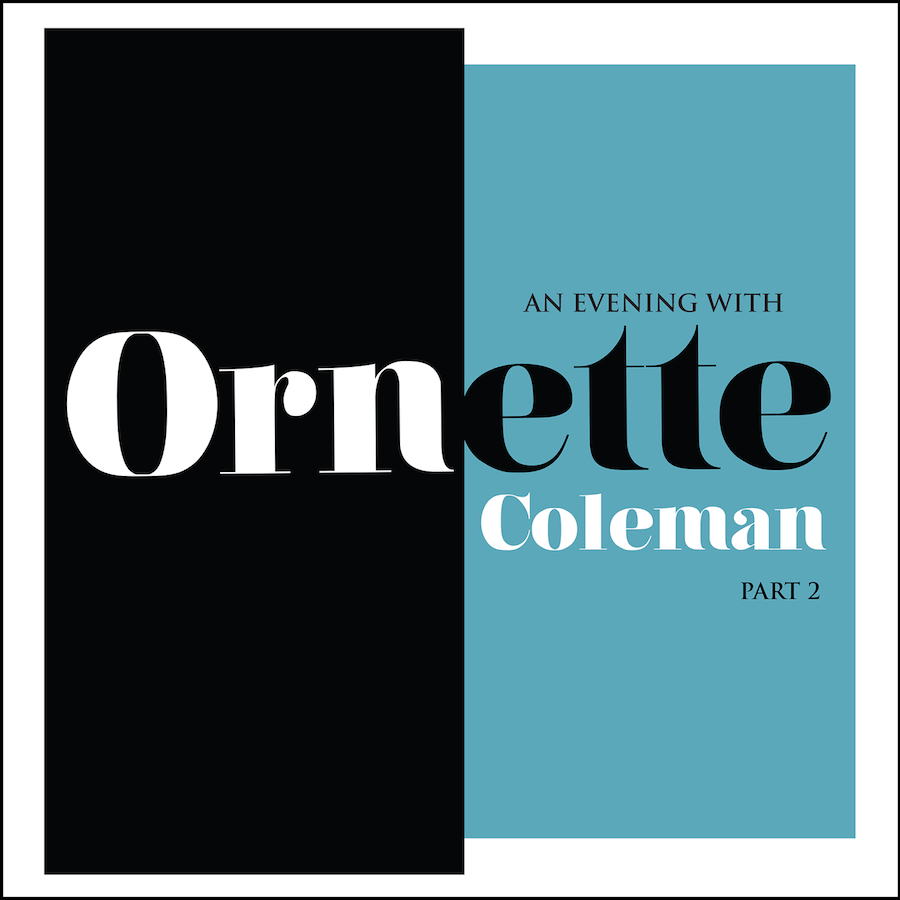"""Ornette Coleman """"An Evening Part 2""""   An Evening With Ornette Coleman (Part 2) is taken from a 1965 concert at Fairfield Hall in Croydon, England. This album captures Coleman during a transitional period that showcases his experimentation with contemporary classical forms.180gram color vinyll."""