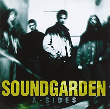 """Soundgarden """"A Sides""""   November 4th 1997 through A&M Records. It was Soundgarden's last official release for 13 years, until 2010's Telephantasm. It contains one song absent from previous albums (""""Bleed Together"""") which appeared on import copies of the """"Burden In My Hand"""" single. THIS IS THE FIRST TIME A-SIDES HAS BEEN AVAILABLE ON VINYL. LP 1: Trans Green + Black swirl/marble, LP 2: Trans Green + White swirl/marble"""