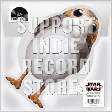 "John Williams ""Star Wars the Last Jedi""   Porg Die-Cut Vinyl . Track Listing 1.The Rebellion Is Reborn 1.Canto Bight"