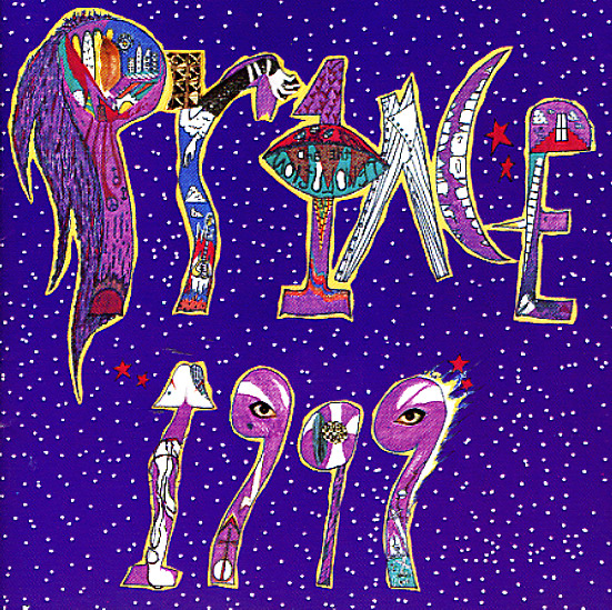 """Prince """"1999""""   Reissue of the 7 track single LP version of Prince's critically acclaimed, breakthrough album """"1999"""".  Featuring the original alternative front cover and 'eye' picture labels. This version of """"1999"""" has been unavailable on LP for 35 years, since initial pressing in 1983. Features the massive pop hits; 1999, Little Red Corvette, Delirious, and Let's Pretend We're Married."""