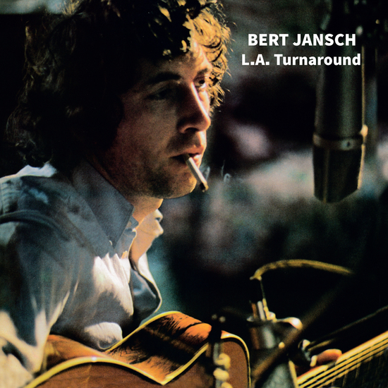 """Bert Jansch """"L.A. Turnaround""""   First of a diptych of albums recorded in and influenced by Bert's time in America. As the title suggests, this album was something of a contrast to Jansch's usual style - taking in swathes of Nashville-infused pedal steel to sparkling effect. Includes 4 additional non-album tracks as a download. Limited edition blue vinyl. 1000 copies worldwide."""