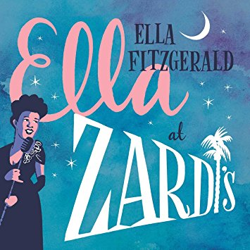 """Ella Fitzgerald """"Live at Zardis""""   Opaque Pink & Opaque Blue Colored Vinyl w/ Contrasting Labels - First time on Vinyl"""