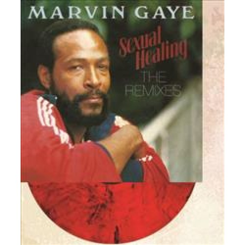 """Marvin Gaye """"Sexual Healing: The Remixes""""   45th anniversary of Marvin Gaye's landmark soul album, Let's Get It On. This limited edition release has been pressed on 180g heavyweight red vinyl"""