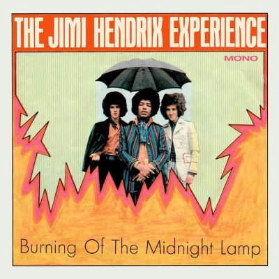 Jimi Hendrix - Burning Of The Midnight Lamp MONO