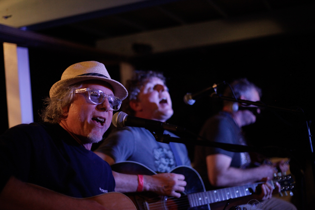 Mike Mills from REM & Mark Bryan of Hootie