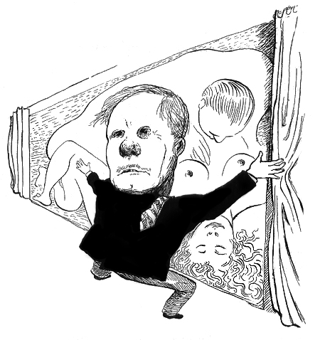 Ted Turner / The New Yorker / 2003