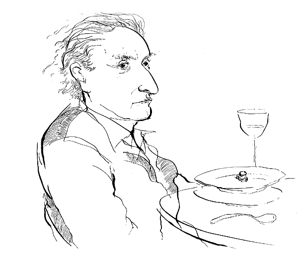 Larry Rivers / Live Sketch / The New Yorker