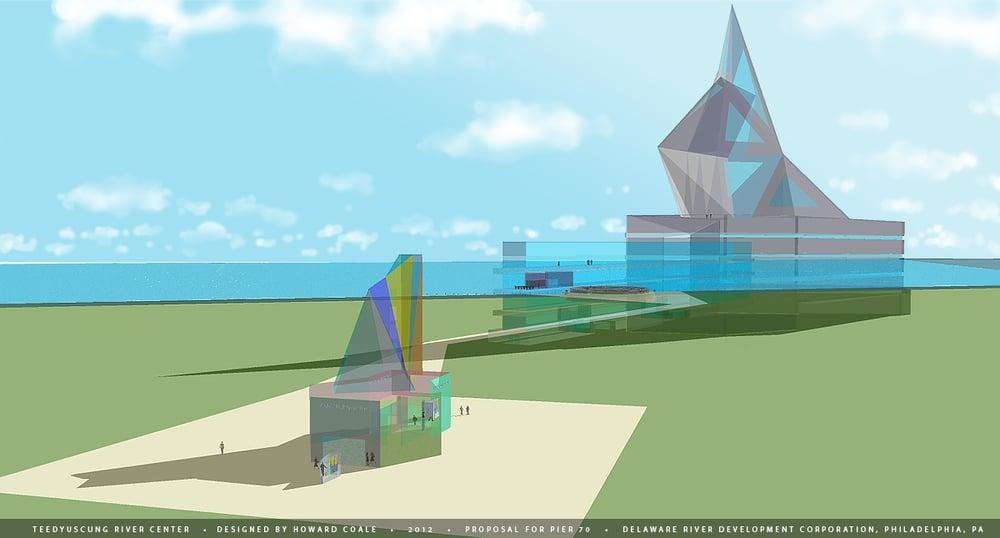 Proposal Pier 70: Teedyuscung River Center, Philadelphia, PA. 2012