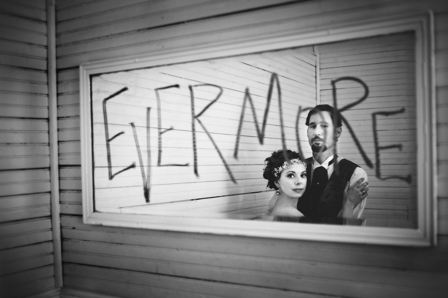 Edgar Allen Poe Themed Wedding